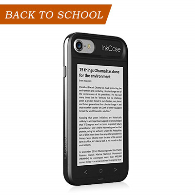 """Oaxis Inkcase i7, 4.3"""" E Ink eReader for iPhone 7/ 8/ 6S / 6, Unique Smart..."""