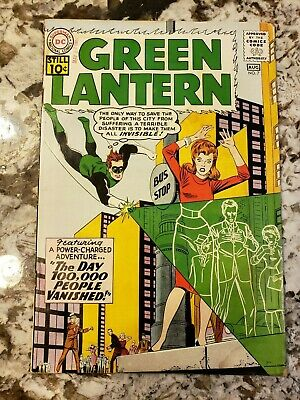 Green Lantern #7 Featuring the 1st Appearance of Sinestro Beautiful Book