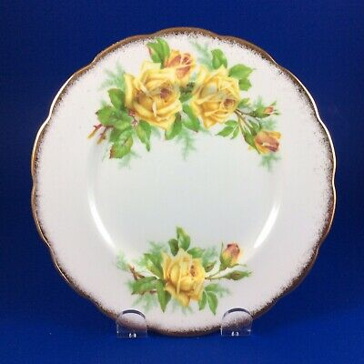 Royal Albert Tea Roses Bone China Dessert Plate