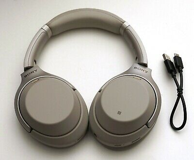 Sony Wh-1000Xm3/s  Bluetooth Wireless Over-Ear Noise Cancelling Silver