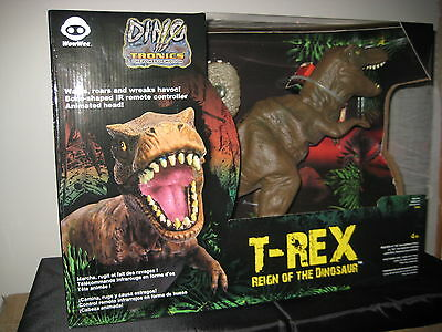Wowwee Reign of the Dinosaur T-Rex remote Dino Tronics Brand New Sealed Wow Wee