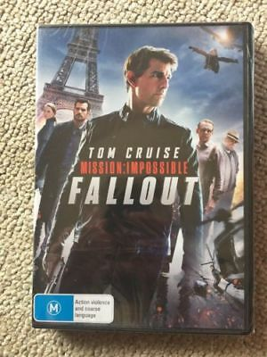 Mission Impossible Fallout ( DVD 2018) NEW RELEASE NEW & SEALED