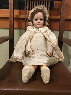 Antique 32-inch 1078 Simon and Halbig German Bisque Doll c.1900 Large Size
