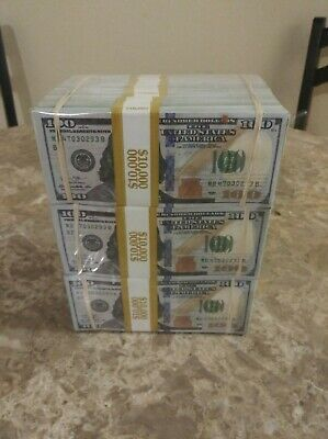 NEW $300,000 Prop Money Cube Very Realistic For Movies, Videos, Television