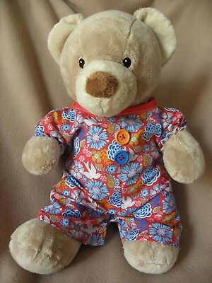 Clothes to fit girls Build a Bear 15in  Pumpkin Patch teddy all in one/onsie