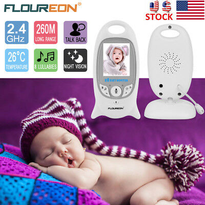Digital Wireless Baby Monitor Video Security Camera Two Way Audio Night Vision