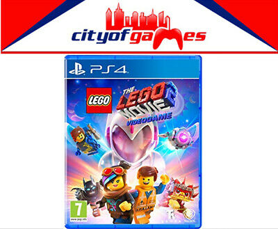 The LEGO Movie 2 Video Game PS4 Game Brand New & Sealed In Stock