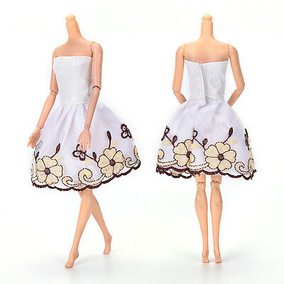 """Fashion Beautiful Handmade Party Clothes Dress for 9"""" Doll Mini 102 ."""