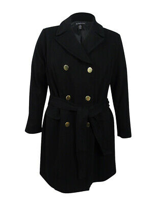 8139e693f0559 INC International Concepts Women s Plus Size Double-Breasted Coat 3X