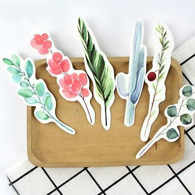 30pcs Feathers Shape Paper Bookmark Gift Stationery School Office Home Supply