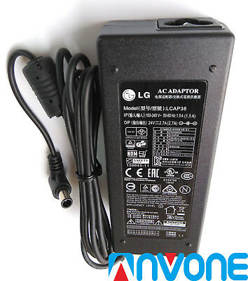 24V 3.42A LG AC Adapter Power Supply Charger LCAP37 EAY63070001 42LN5200//460