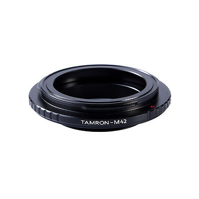 Lens Adapter for Tamron Adaptall 2 Lens To M42 Screw Mount Focus Infinity K&F