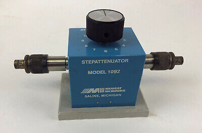 Midwest Microwave Model 1092 Step Attenuator