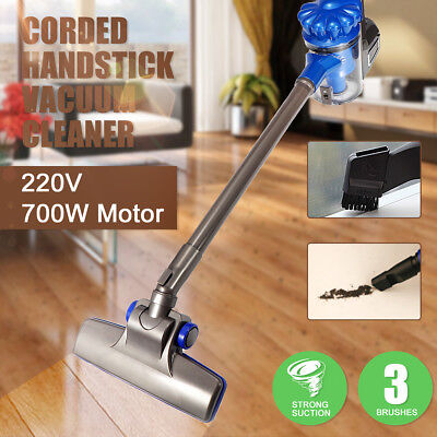 Household Handheld Vacuum Cleaner Bagless Stick Handstick Cleaning Brush AU