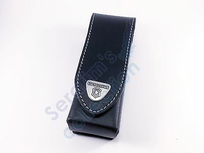 Victorinox Black Leather Belt Pouch 4.0523.3 for 111mm 2-4 layers Folding Knife