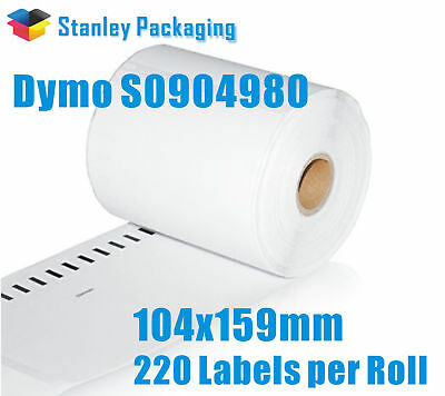 5x SD0904980 Compatible Dymo 4XL S0904980 Shipping Extra Large Labels 104x159mm