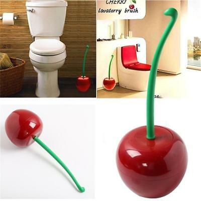 1pcs Creative Cherry Lavatory Brush Toilet Bowl Brush Betify Toilet Brush BID