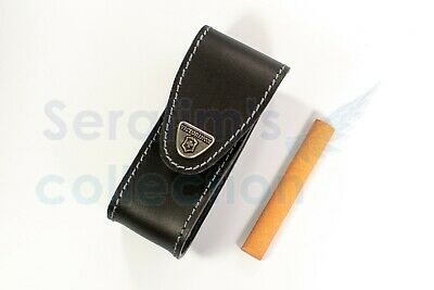Victorinox Black Leather Pouch for 111mm 1–4 layers 4.0523.32 Swiss Army Knife