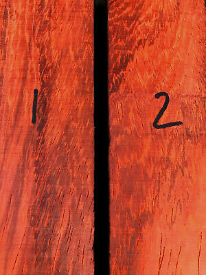 African padauk knife scale block carving block 175 x 50 x 28mm