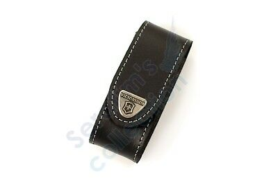 Victorinox Black Leather Pouch 4.0520.3 for 84/91mm 2–4 Layers Folding Knife