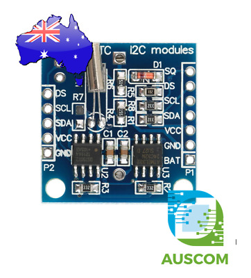 RTC I2C Module DS1307 AT24C32 Time Clock AVR ARM PIC SMD - Arduino