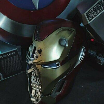 Crazy Toy Personal Tailor Iron Man MK50 1/1th Scale Battle Damage Helmet New HP