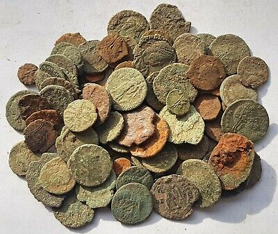 80 Plus Roman coins for  Coins for cleaning/research/attribution.