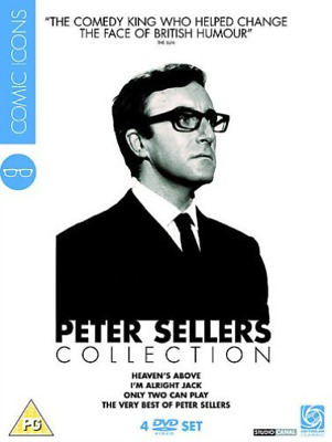 Mai Zetterling, Virginia Ma...-Peter Sellers Collection: Com (UK IMPORT) DVD NEW