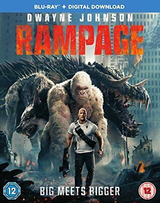 Rampage [Blu-ray] [2018] [DVD][Region 2]