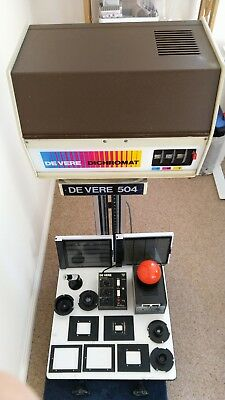 De Vere 504 Large Format Enlarger