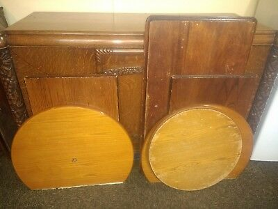 Traditional Pub Table Tops, round rectangle