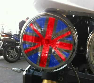 "Adesivo faro TRIUMPH bandiera inglese ""Union Jack"" speed street triple colore"