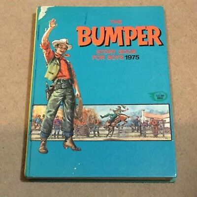 ⭐️ 'The Bumper Story Book For Boys' 1975 ⭐️