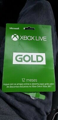 Microsoft - Xbox Live 12 Month Gold Membership NOT FOR USA