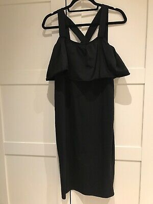 Asos Black Maternity Dress Size 12
