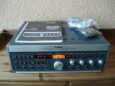 REVOX B780 Receiver serviced 110 to 240VAC Déemphasis 50/75us for EU and USA