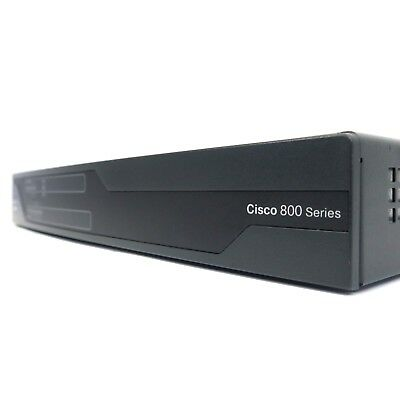 Cisco C881-K9 Integrated Services Router - Part # C881-K9 V01 - Fully Tested