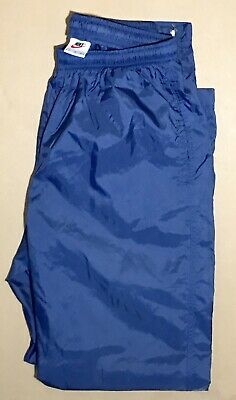 dc26b06647a3 Vintage 90s NIKE Windbreaker Track Pants Mens Large Royal Blue Nylon Retro