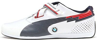 29b5ce1b941 PUMA EVO SPEED Low Strap Up Leather BMW Motorsport Mens Trainers ...
