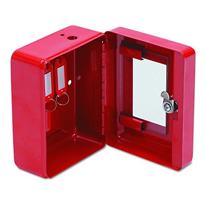 FireKing EK0506 Hercules Emergency Safe, Steel, 0.05 ft3, 4-3/4w x 6d x 3h, Red