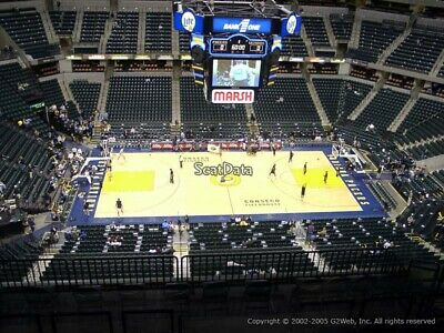 3 Tickets Brooklyn Nets @ Indiana Pacers 4/7/19 Indianapolis, IN