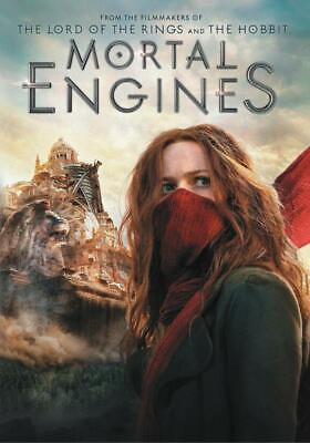 """MORTAL ENGINES"" (2018,DVD)  ReOrdered/ Ship Out April 2"