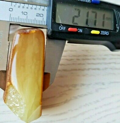 30.0 GR AMBER BALTIC NATURAL STONE RAW Pendant 100% GENUINE Amber Multicolor D30