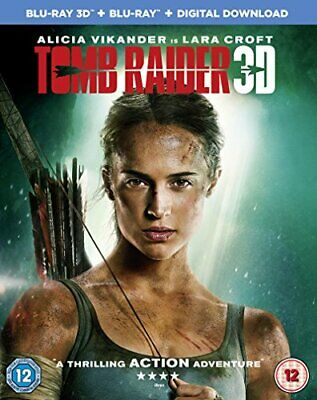 Tomb Raider [Blu-ray] [2018] [DVD][Region 2]