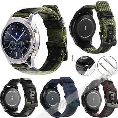 Genuine Leather & Nylon Watch Band Strap Gifts For Huawei WATCH GT / WATCH 2 Pro
