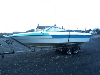 22' SPEEDBOAT with CUDDY CABIN, FREE Delivery within 80 miles of Torquay