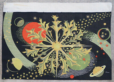 Tapestry rug carpet antique European Europe French France 1960
