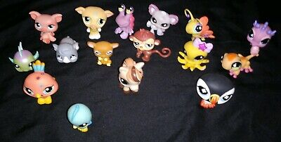 Littlest Pet Shop Lot Of 16 Pets~Nice Selection~No Duplicates