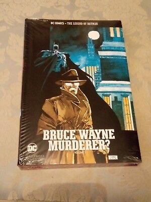 "DC comics ""Bruce Wayne: Murderer?"" New hardback, cheapest on eBay check!"