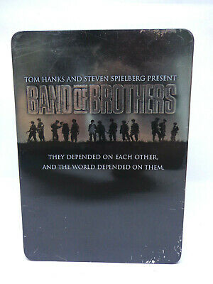 DVD Serie - Band of Brothers (Uncut / Steelbox)(10 DVD´s)(FSK18) 11360704